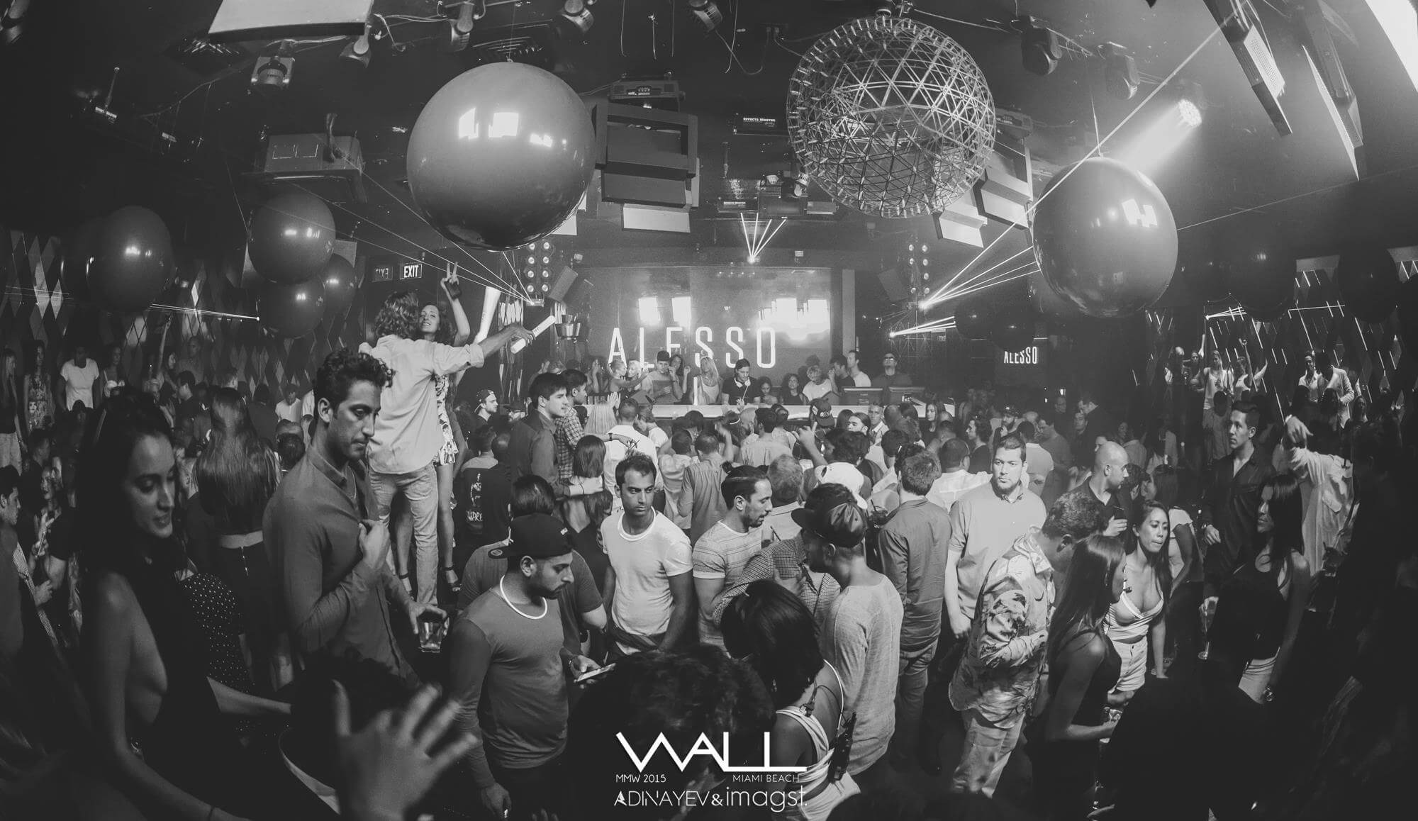 Alesso at WALL nightclub inside W South Beach